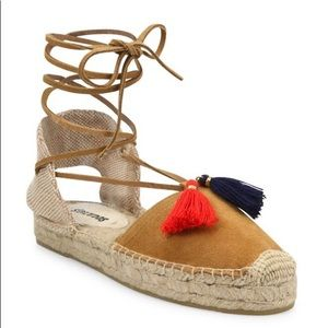 Soludos lace up espadrilles